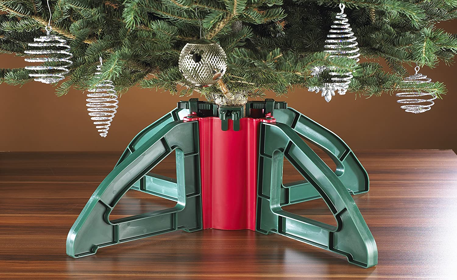 Amazon.com: Omega Christmas Tree Stand- No Screws |Unbreakable Nylon ...
