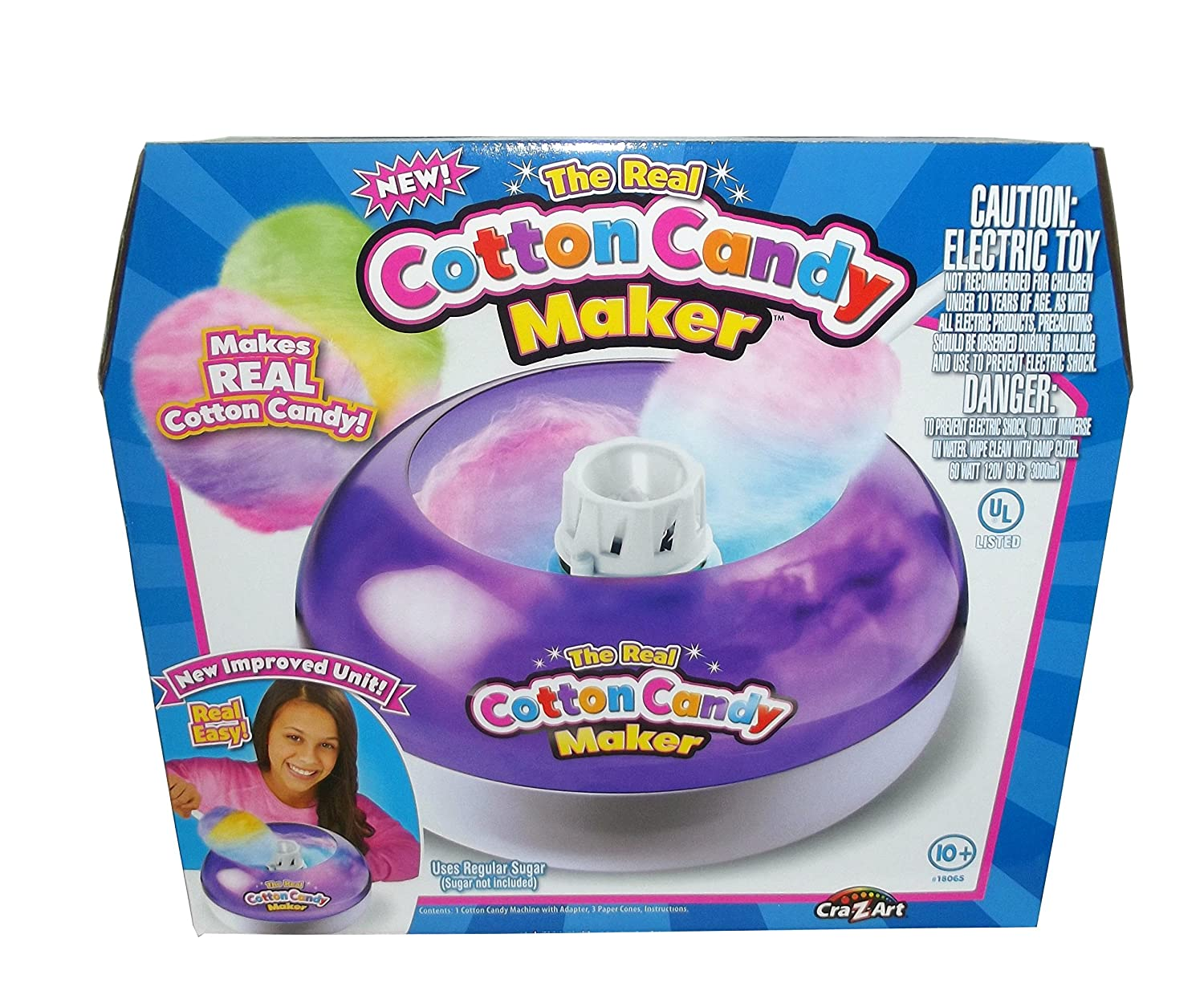 Cra-Z-Art Real Cotton Candy Maker