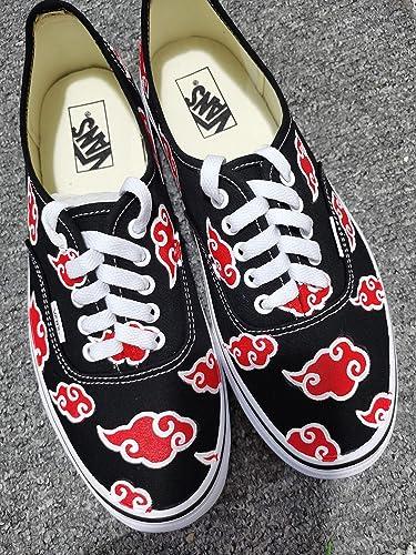 Akatsuki Cloud Van Anime Shoes