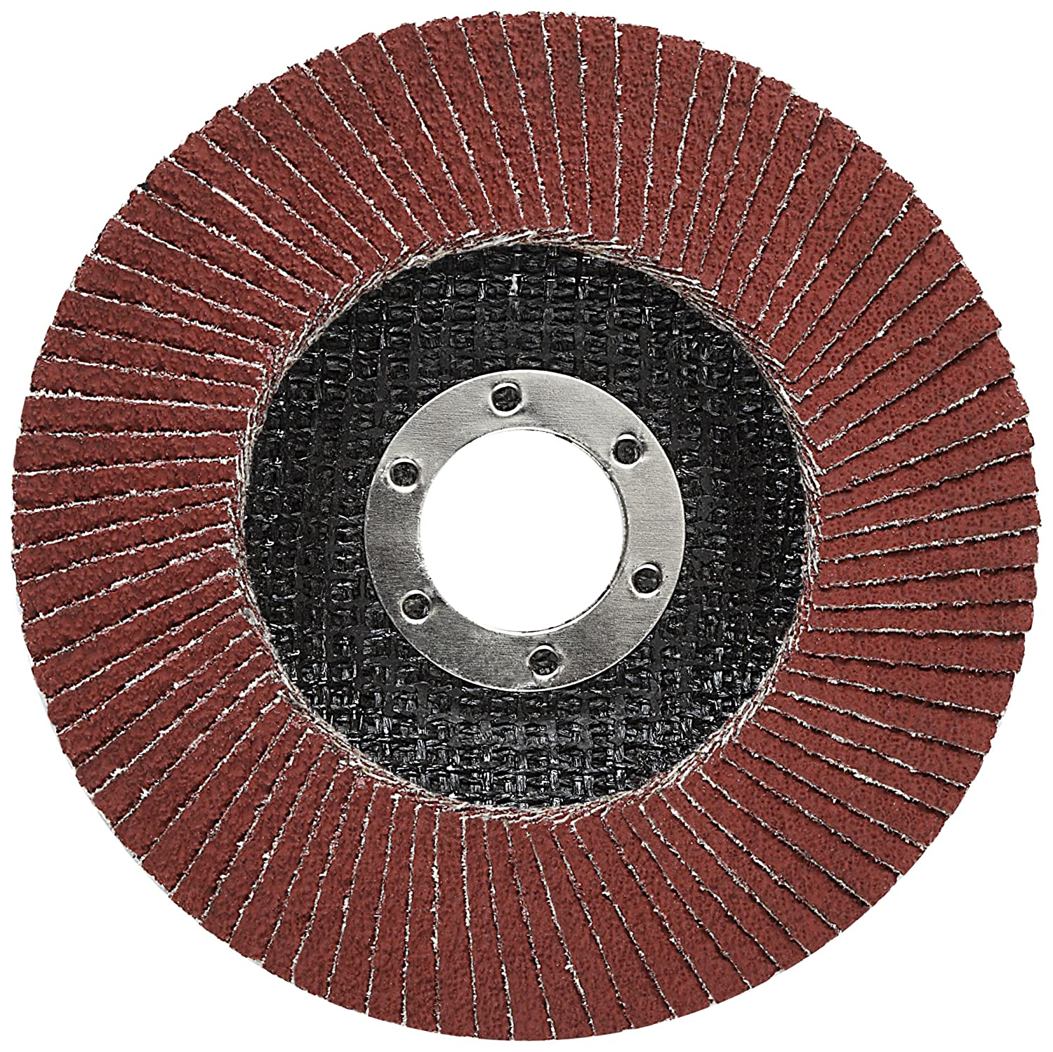 Cubitron II 64403 3M Flap Disc 969F T27 4-1//2 x 5//8-11 40+ YF-Weight Polyester Film Backing Precision Shaped Ceramic Grain Abrasive Grit 4.5 Diameter Giant