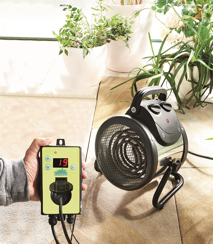 Gewächshausheizung Palma 2 kW, digital