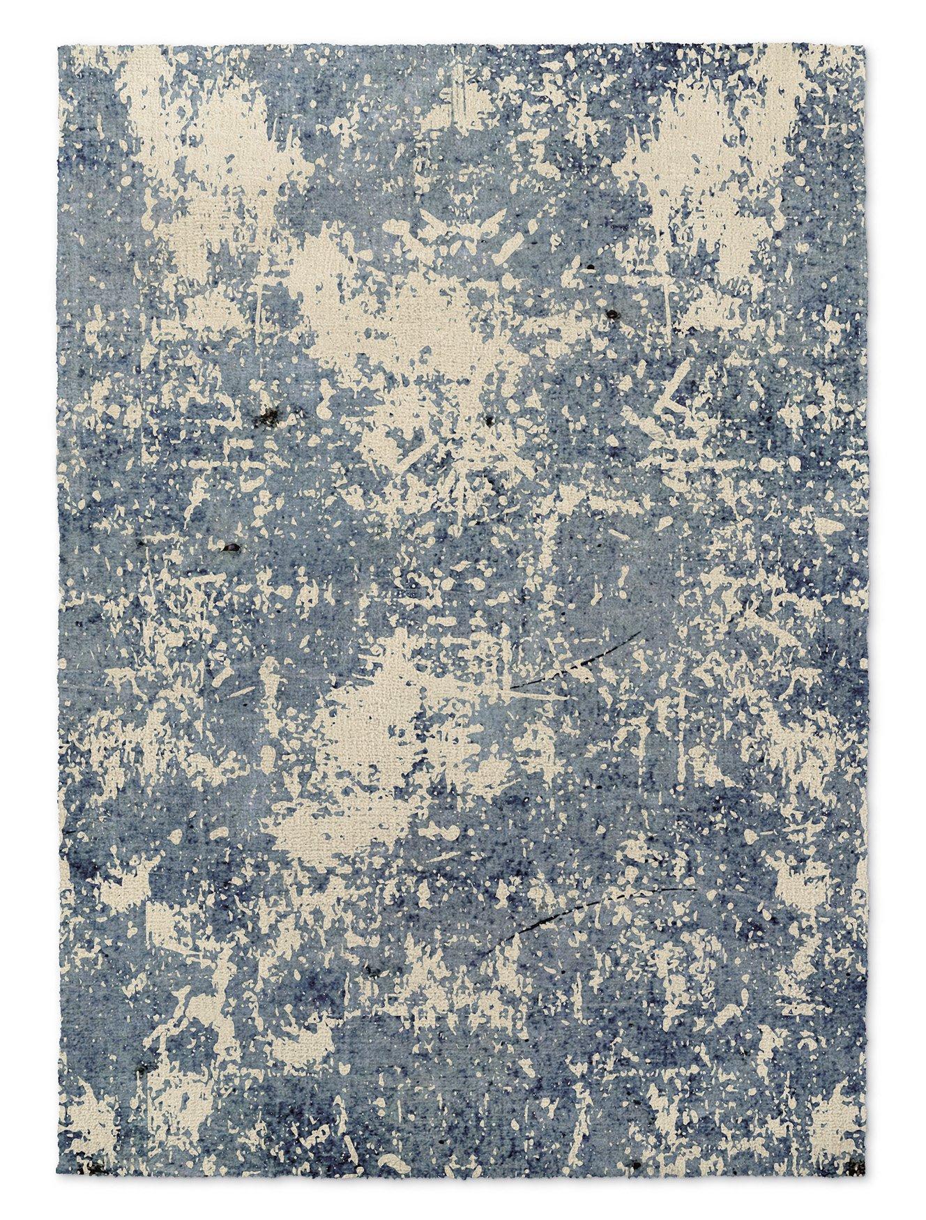 KAVKA Designs Tempe Area Rug, (Blue) - ENCOMPASS Collection, Size: 5x7x.5 - (TELAVC1465RUG57)