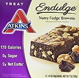 Atkins Endulge Treat Nutty Fudge Brownie, 5 Count