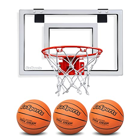 GoSports Basketball Door Hoop with 3 Premium Basketballs u0026 Pump - PRO Size  sc 1 st  Amazon.com & Amazon.com : GoSports Basketball Door Hoop with 3 Premium ...