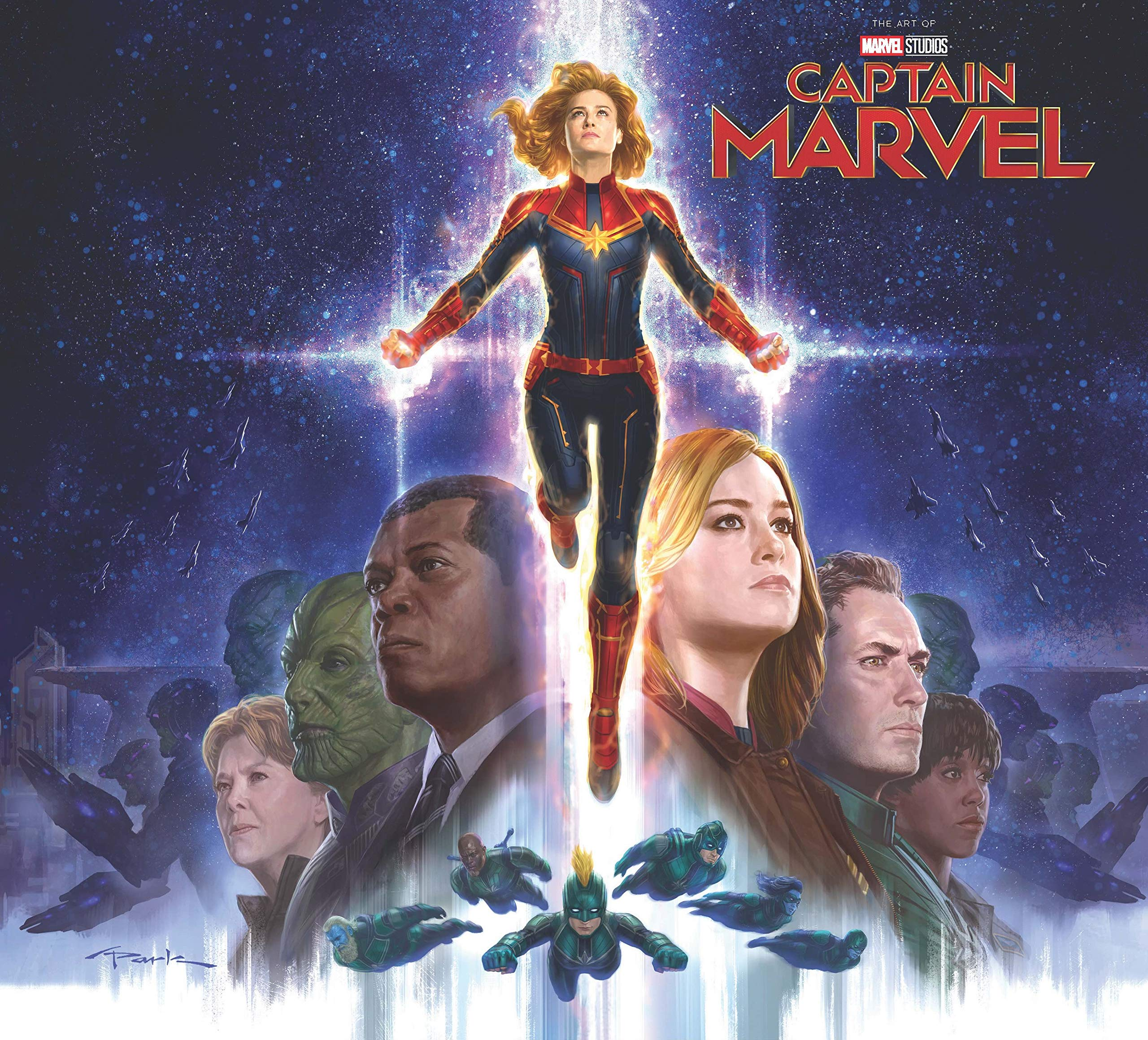 Amazoncom Marvels Captain Marvel The Art Of The Movie