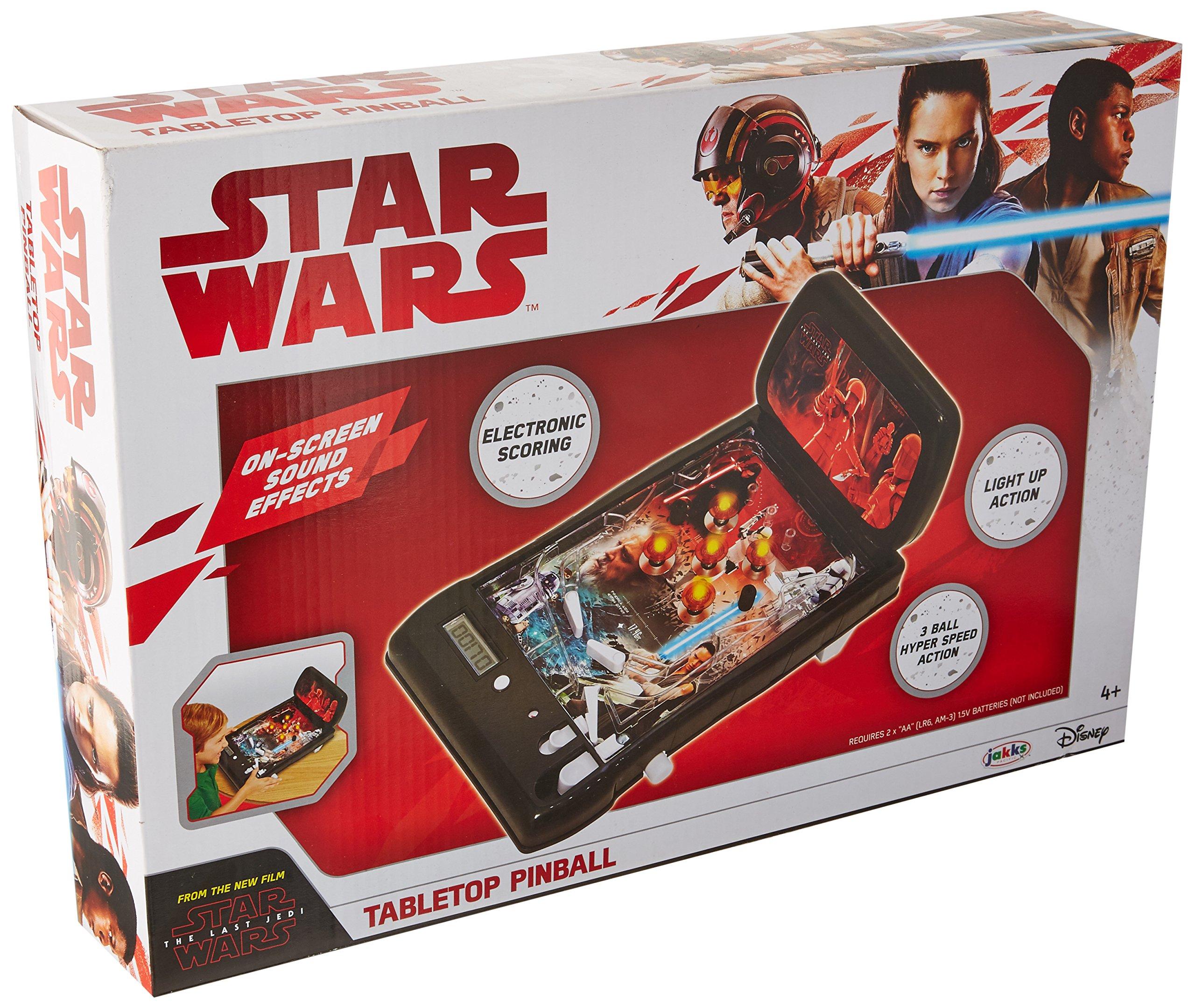 Star Wars The Last Jedi Tabletop Pinball by Star Wars