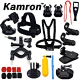 Kamron Go-Pro 17 in 1 Sports Accessories Kit for GoPro Hero 5 4 3+ 3 2 1