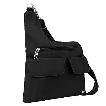 12d08569d2 Amazon.com: Travelon Luggage Anti-Theft Cross-Body Bag, Black