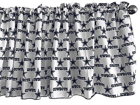 14 Tall Zen Creative Designs 100/% Cotton NFL Sports Team Dallas Cowboys Camouflage Print Window Valance Panel//Kids Nursery Window Treatment Decor