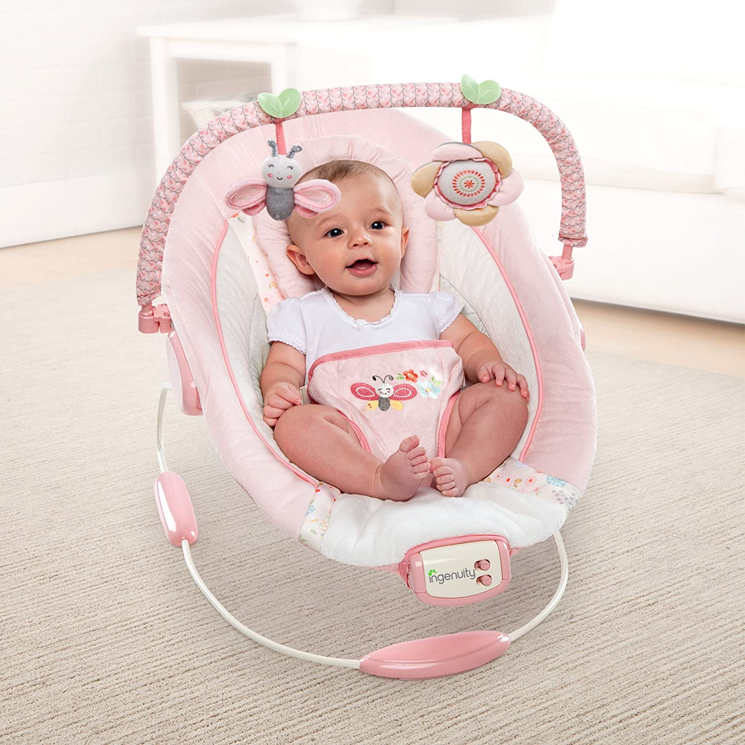 Amazon Ingenuity Cradling Bouncer Felicity Floral Baby