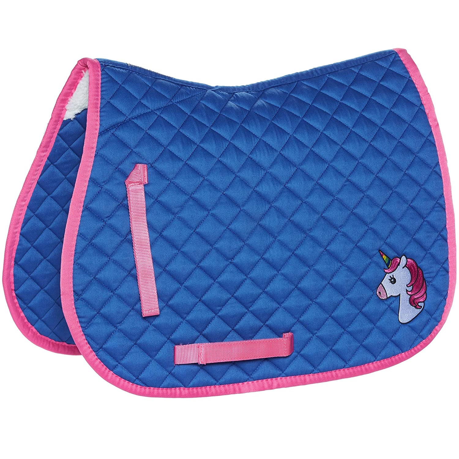 Derby House Classic Saddle Pad Cob Red