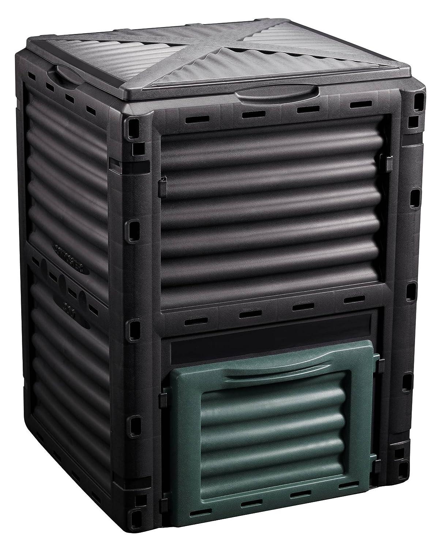 Oxid7 - Compostador de plástico (recipiente con 300 L ...