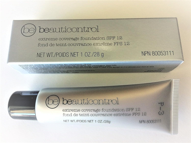 Amazon.com : Beauticontrol Extreme Coverage Foundation SPF 12 ...