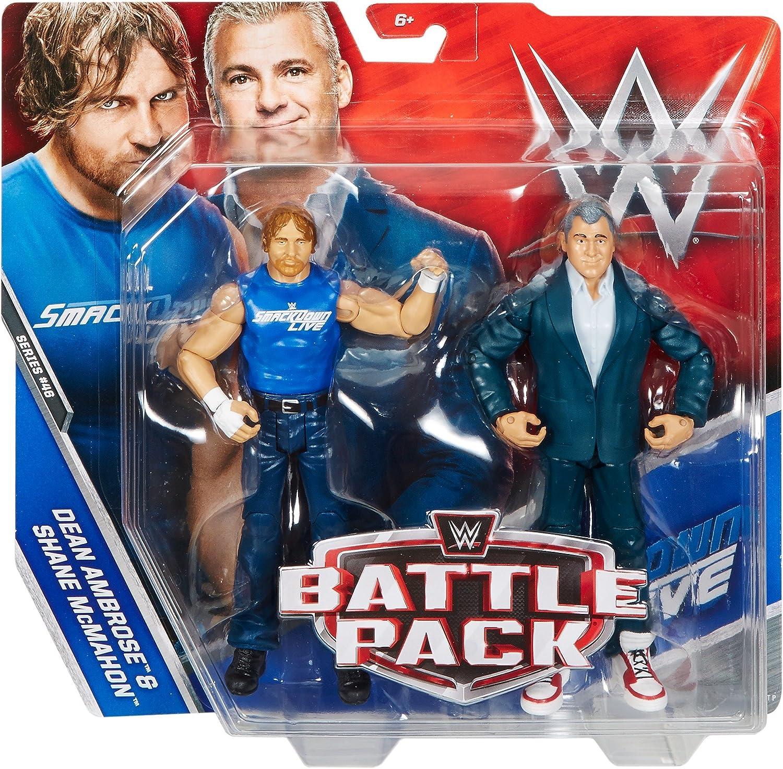 WWE Mattel DEAN AMBROSE Y Shane MCMAHON Acción Pack Serie 46 Figura: Amazon.es: Juguetes y juegos