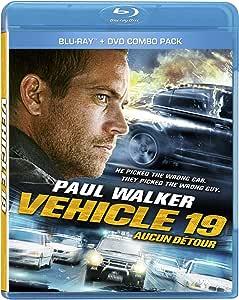 Vehicle 19 [Blu-ray + DVD] (Bilingual)