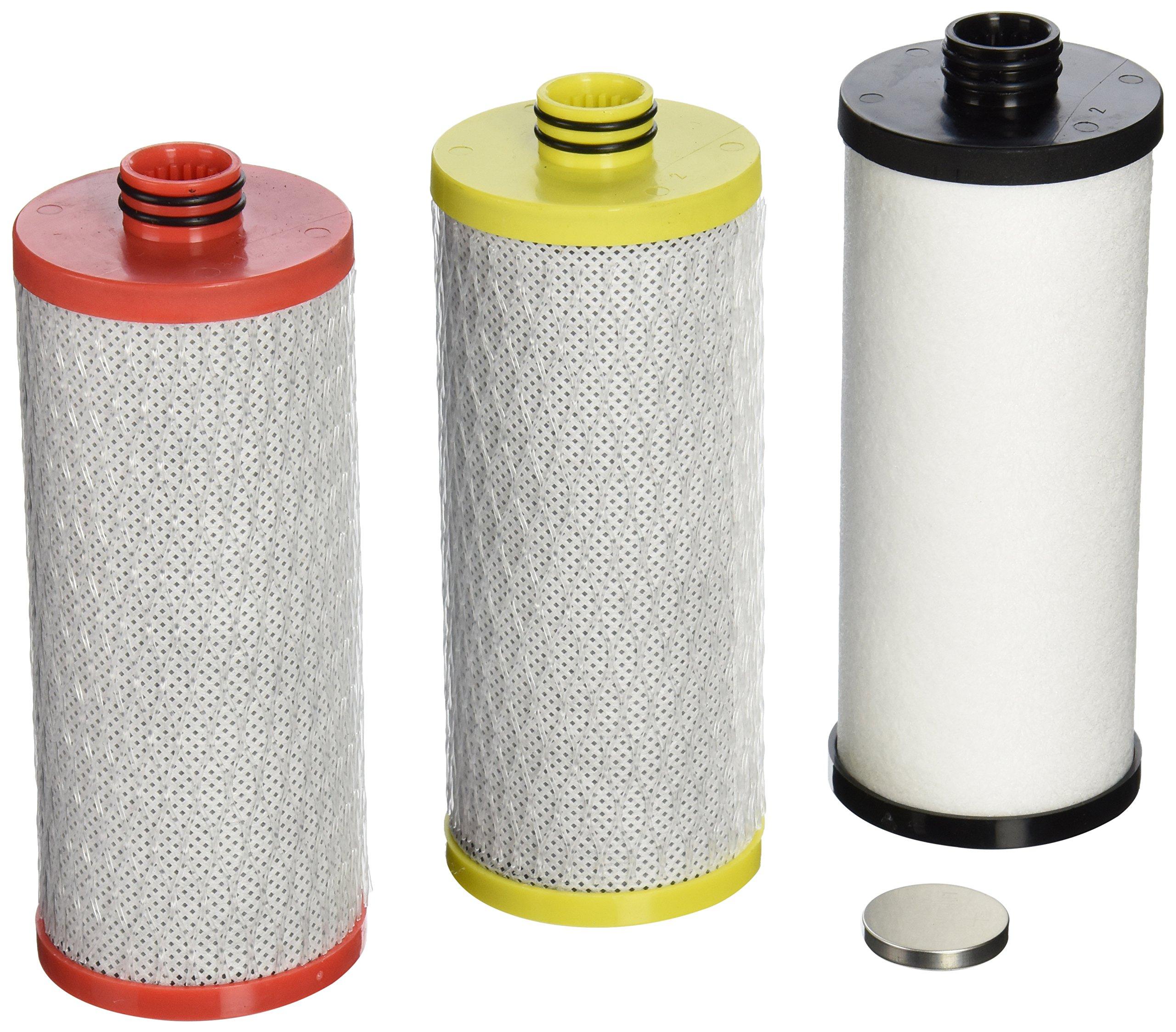 Aquasana AQ-5300R 3-Stage  Under Sink Water Filter Replacement Cartridges by Aquasana