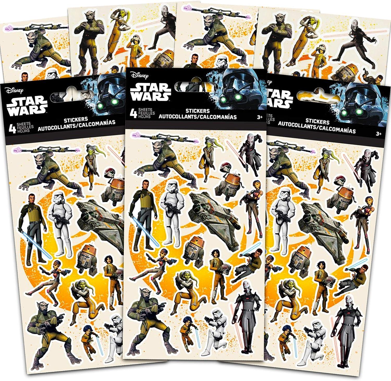 Lot of 5 books. Star Wars sticker books 300 stickers per book