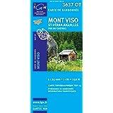 Top25 3637OT ~ Mont Viso carte de randonnée avec une règle graduée gratuite