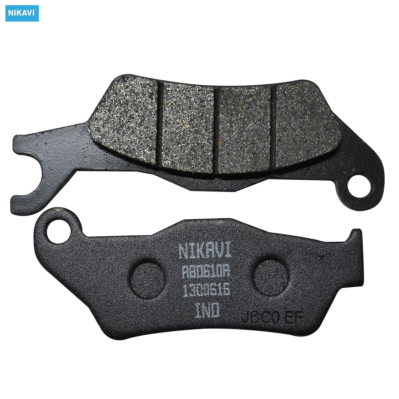 NIKAVI Front Brake Disc Pad Compatible