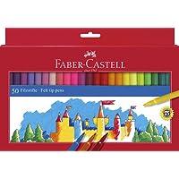 Faber-Castell - Estuche con 50 rotuladores (554250)