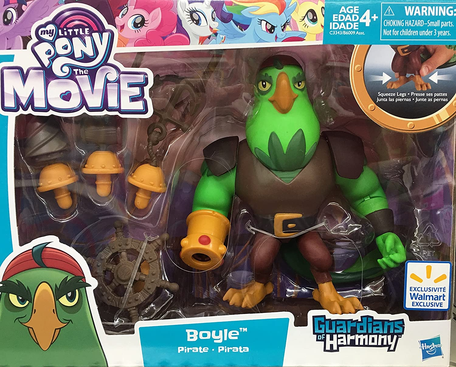 My Little Pony the Movie Guardians of Harmony Pirate Boyle New in Box