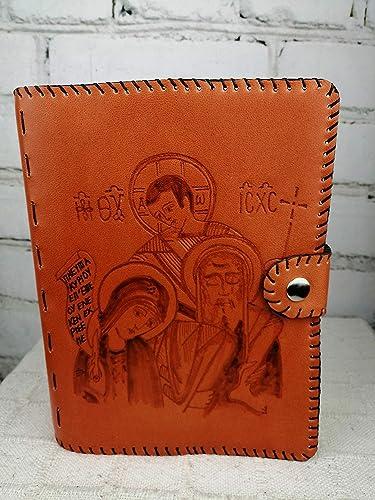 Funda Cuero para Biblia Sagrada Familia: Amazon.es: Handmade