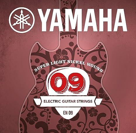 Yamaha EN09 - Juego de cuerdas para guitarra eléctrica: Amazon.es ...