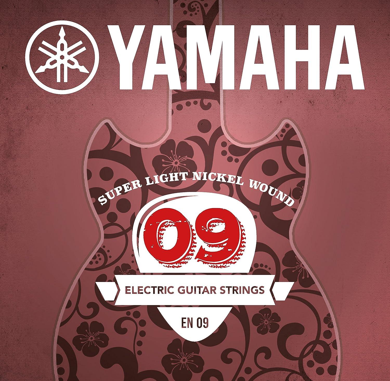 Yamaha EN09 - Juego de cuerdas para guitarra eléctrica: Amazon.es: Instrumentos musicales