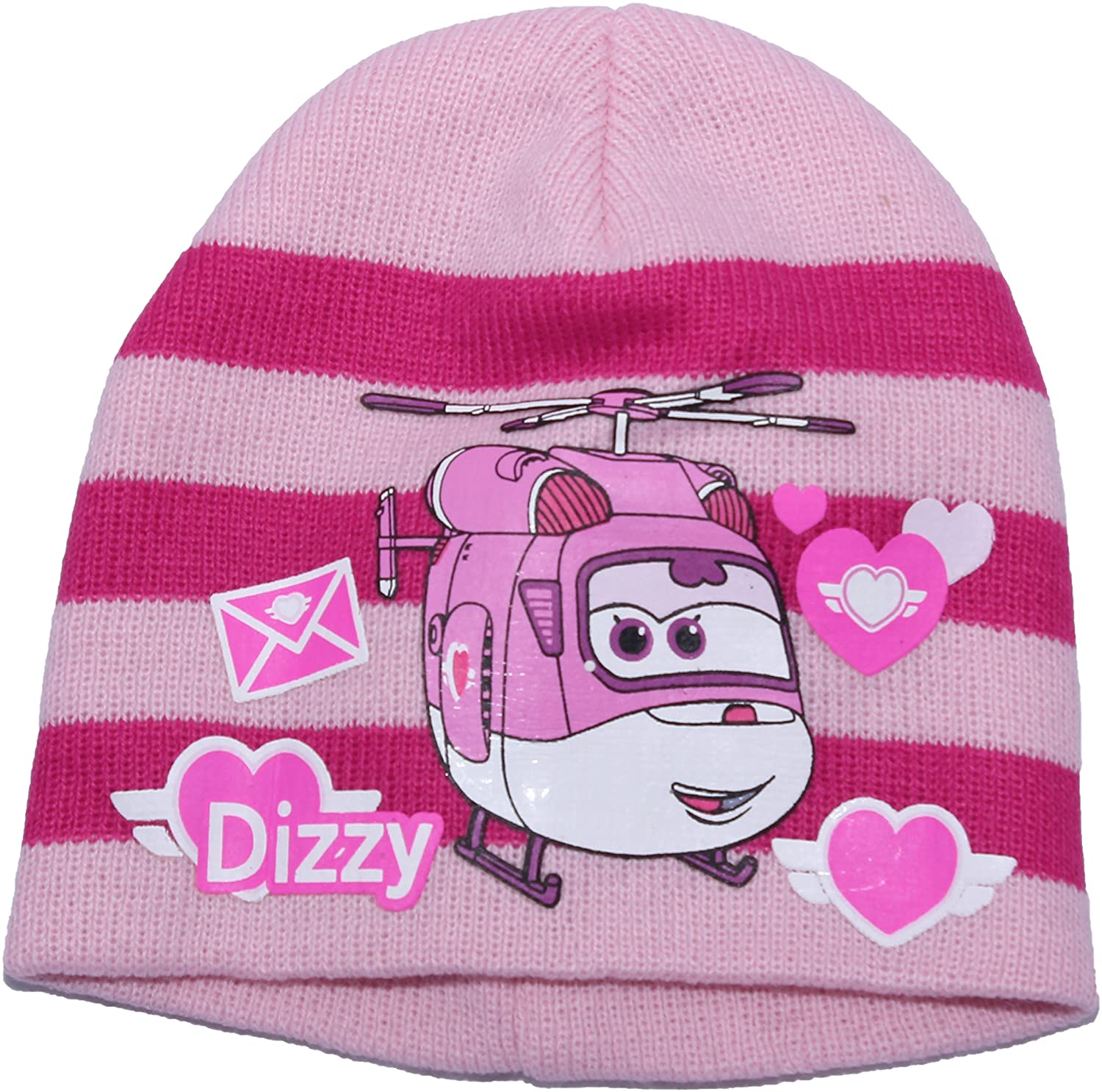 Super Wings Childrens Girls Colour Choices Winter Beanie Hat