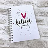 Food Diary Diet Journal Planner created for Slimming World followers - 2019 Planner - Always believe Pink