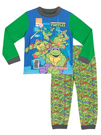 Teenage Mutant Ninja Turtles Boys Ninja Turtles Pajamas Size 5