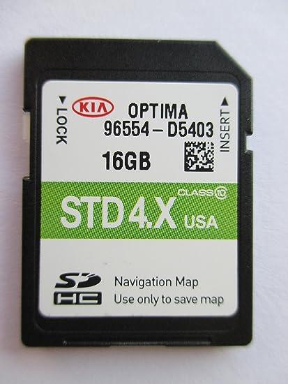 Amazon com: D5403 2017 KIA OPTIMA Navigation MAP Sd Card