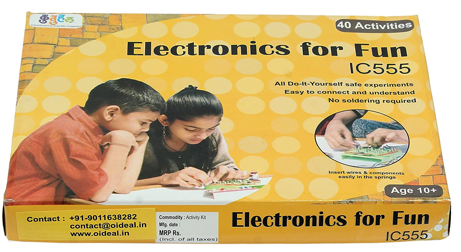 Buy do it yourself electronics for fun advance p2 educational buy do it yourself electronics for fun advance p2 educational learning toy online at low prices in india amazon solutioingenieria Choice Image