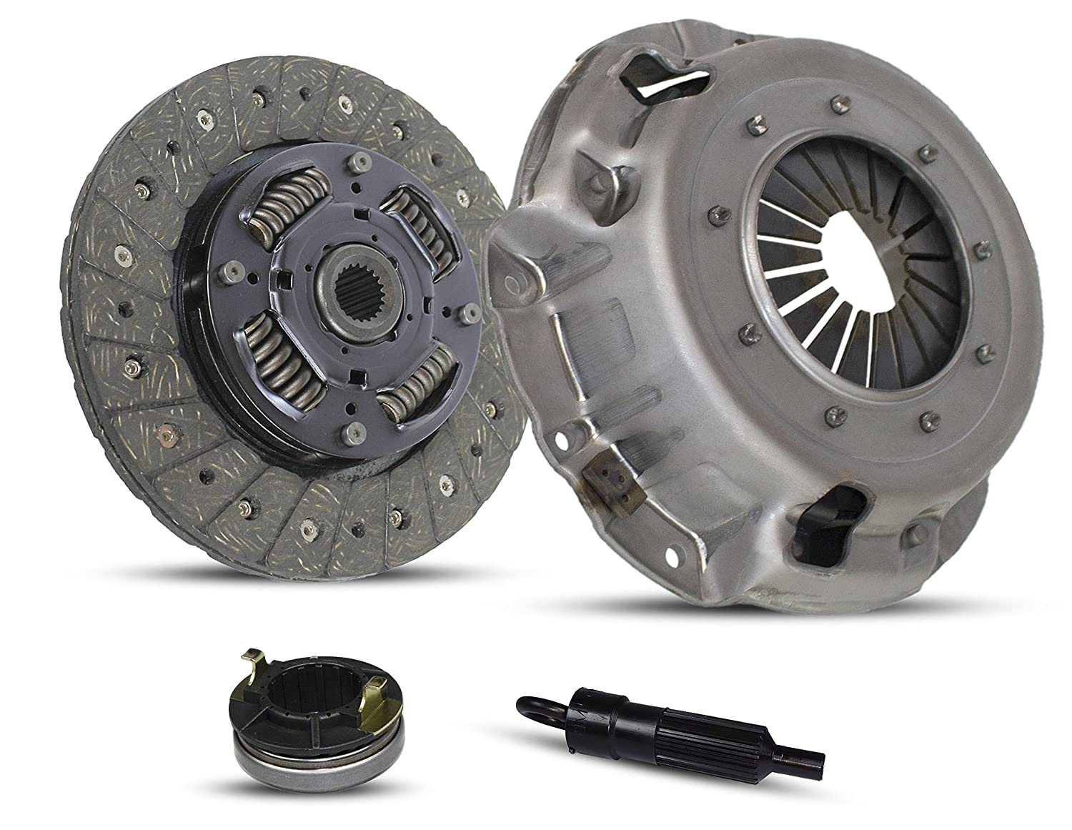 Clutch Kit Works With Hyundai Accent L Gl Gs Gsi Base Gt 1995-2002 1.5L l4 GAS SOHC Naturally Aspirated