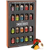 Thoughtfully Gifts, Smokehouse Ultimate Grilling Spice Set, Grill Seasoning Gift Set Flavors Include Chili Garlic, Rosemary a