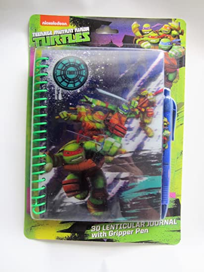 Amazon.com: teenage mutant ninja turtles Lenticular 3d ...