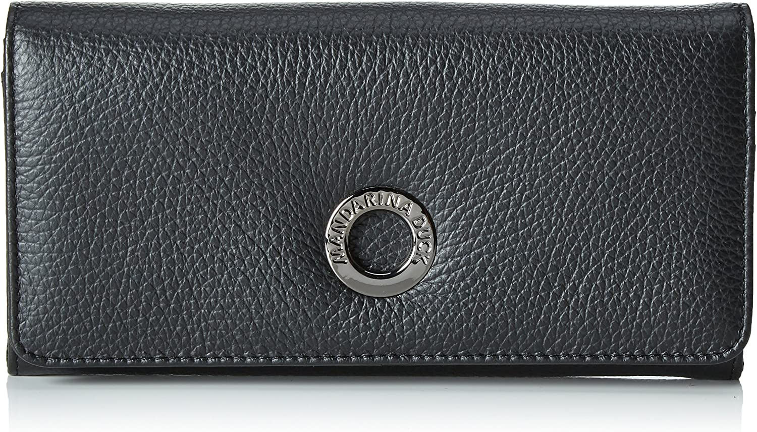 Mandarina Duck Md20, Billetera para Mujer, Negro (Negro/Black), One size