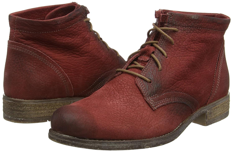 Josef Seibel Womens Sienna 03 Leather Boots B00VILEZGK 37 M EU|Red