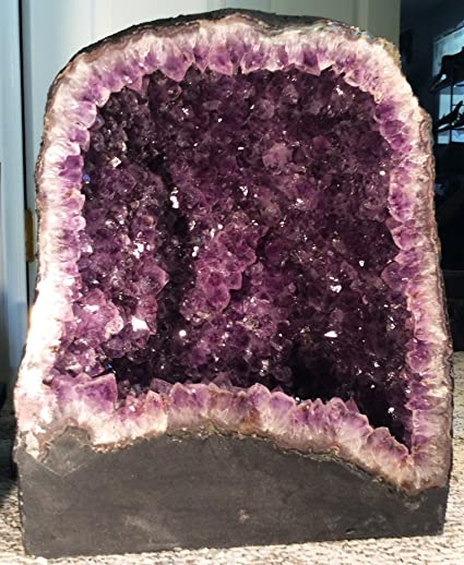 Amazon com : Amethyst Cathedral - Amethyst Geode - Amethyst Cluster