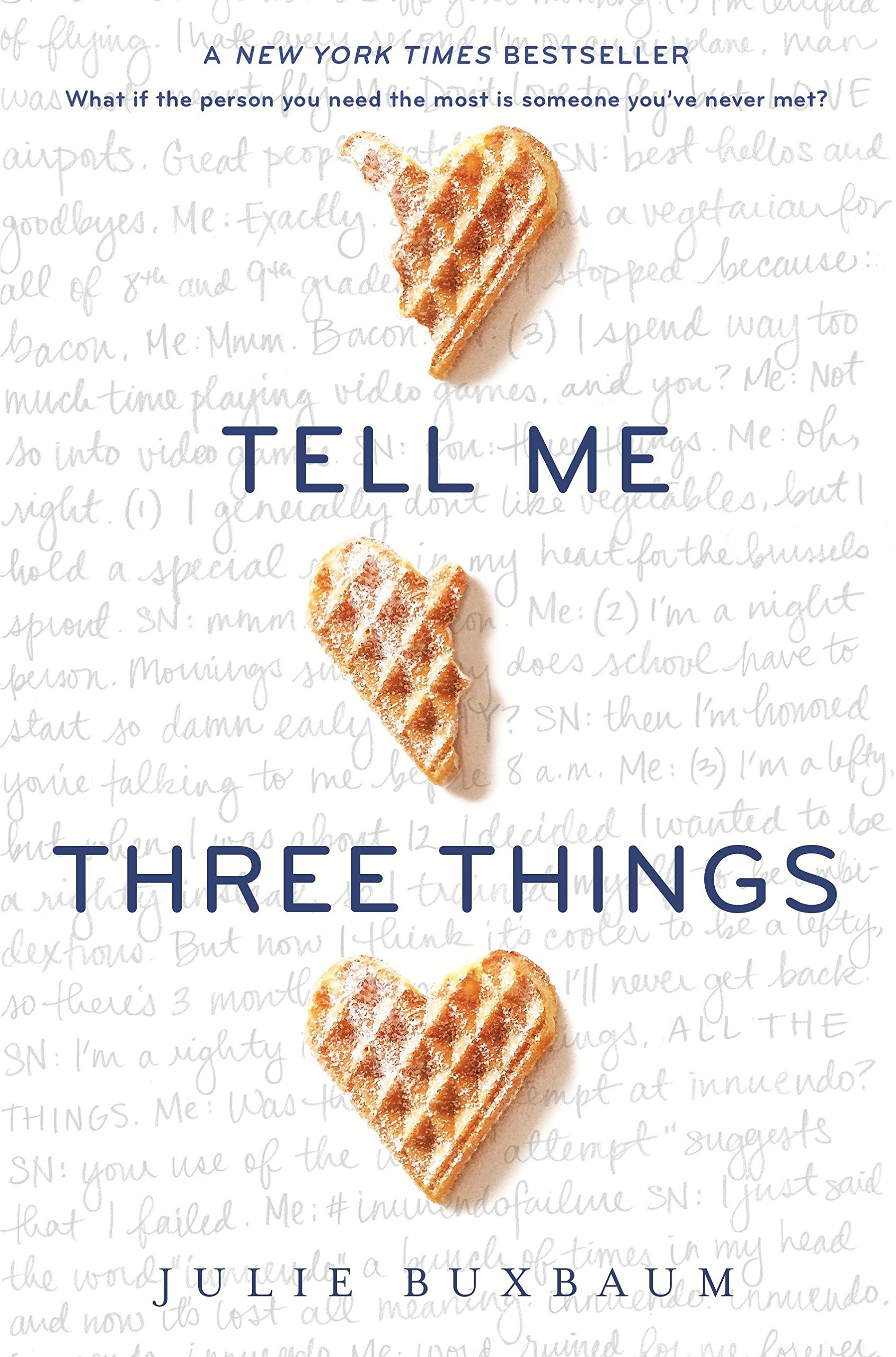 Download Tell Me Three Things ebook