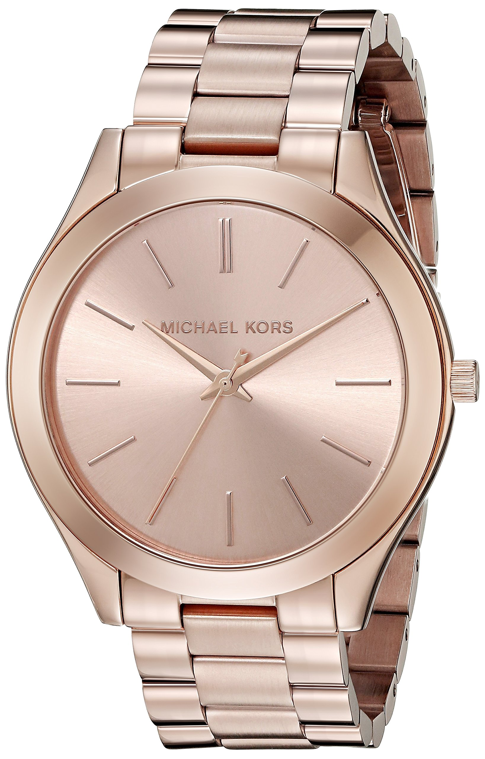 c5b0855015e0 Michael Kors Women s Runway Rose Gold-Tone Watch MK3197 - FEI ...