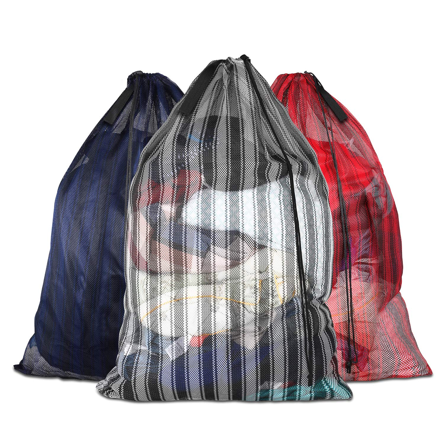 Daly Kate Commercial Laundry Bags with Fabric Handle 24\