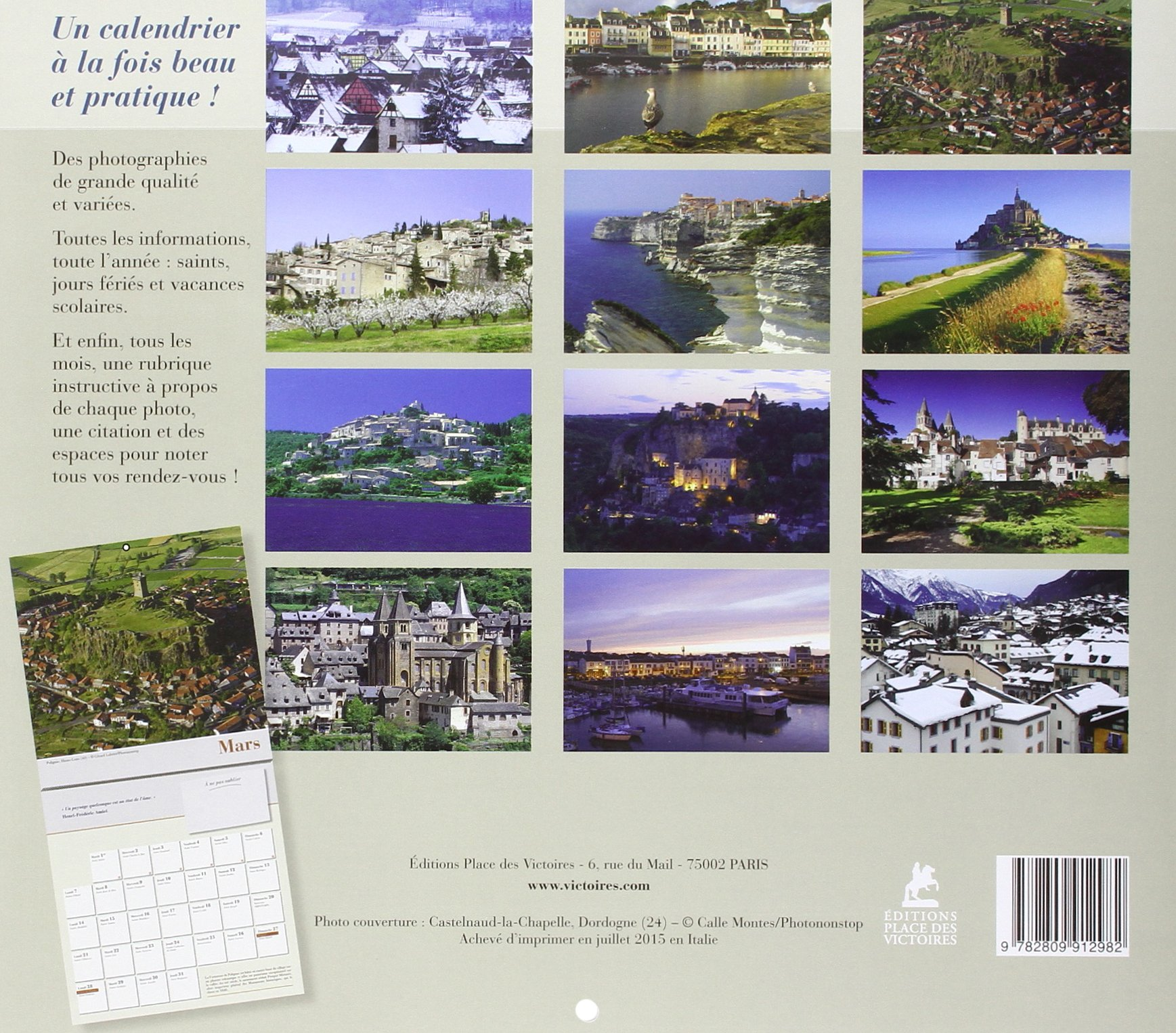 Attrayant Editions Place Des Victoires #4: Villages De France Calendrier 2016 [ Calendar ] (French Edition):  Collectif, Place Des Victoires: 9782809912982: Amazon.com: Books