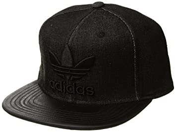 a2367f0dcf1 adidas Men s Originals Trefoil Plus Snapback Cap