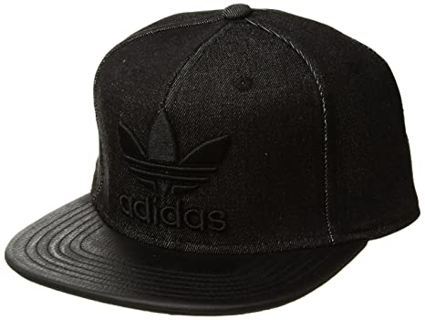 735a27f51afda Amazon.com  adidas Men s Originals Trefoil Plus Precurve Structured ...