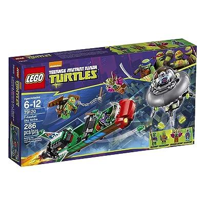 LEGO Ninja Turtles Ninja Turtles T-Rawket Sky Strike - 79120: Toys & Games
