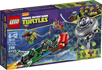Amazon.com: LEGO Teenage Mutant Ninja Turtles T-Rawket Sky ...