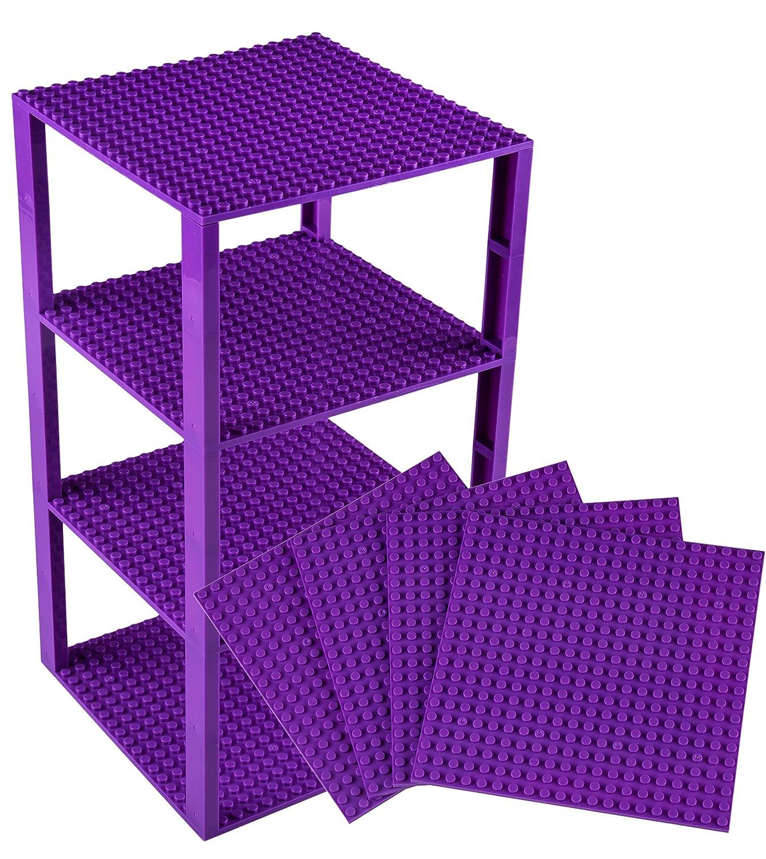 ファッション (ストリクトリーブリックス) Strictly ブルー Briks 6x6 タワー ブルー Strictly 638888954698 タワー B01459BZ5U 36-purple 36-purple, ミトヨグン:c04fc873 --- martinemoeykens.com