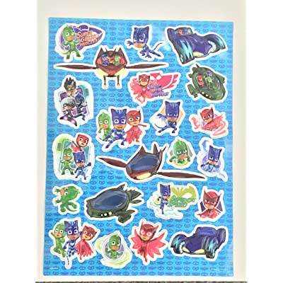 Pj Masks Raised Sticker Sheet: Toys & Games