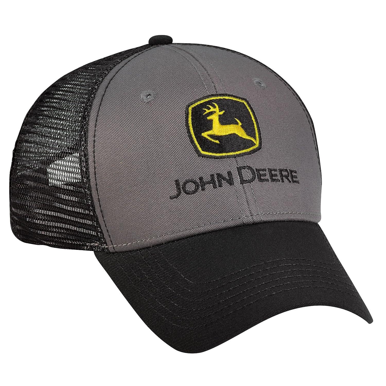 John Deere Carbón y negro Gorra de: Amazon.es: Ropa y accesorios